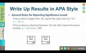 How to Report Statistics in APA Style   YouTube Yumpu