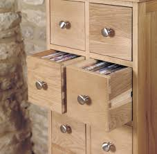 mobel oak multi drawer cd storage chest of drawers baumhaus mobel oak drawer