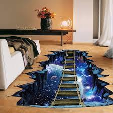 <b>NEW Large 3d Cosmic</b> Space Wall Sticker Galaxy Star Bridge Home ...