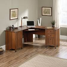 corner natural pine wood computer desk with small cabinet most visited inspirations featured in rustic design astounding small black computer