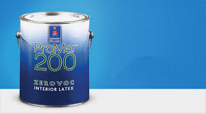 Promar 200 zero voc interior house paint by sherwin williams