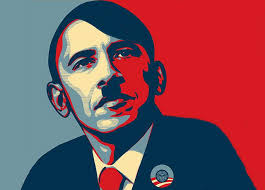 Image result for Images of Obama as Hitler