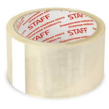 <b>Клейкая лента</b> упаковочная <b>Staff</b> 48мм х40м, прозрачная, 40мкм ...