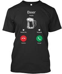 Beer Tshirt Beer Is Calling Beer Tshirt For Men Women | Печать на ...