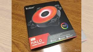 <b>Вентилятор PCcooler halo</b> RGB 120 купить в Самарской области ...