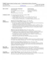 resume examples elementary student teaching resume template for resume examples elementary student teaching resume template for substitute teaching experience on resume teaching practicum experience on resume college