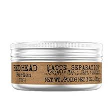 Buy <b>TIGI BED HEAD For</b> Men Matte Separation Workable Wax, 85 g ...