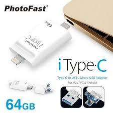 【64G】PhotoFast iTypeC 雙頭龍(A500103) | 快3網路商城~燦坤實體 ...