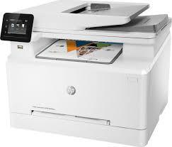 Купить <b>МФУ</b> лазерный <b>HP Color LaserJet</b> Pro M283fdw, белый в ...