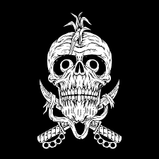 Premium Vector | Pirate <b>punk</b>,<b>hardcore punk</b>