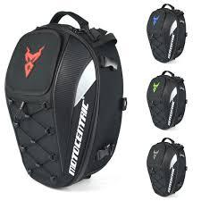 New Waterproof <b>Motorcycle</b> Tail Bag <b>Multi functional Durable Rear</b> ...