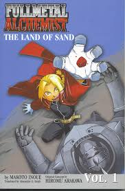 list of fullmetal alchemist light novels full metal alchemist the land of sand