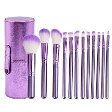 professional 12pcs makeup brushes set powder lip eyeliner foundation eyeshadow make up brush cosmetic beauty tool