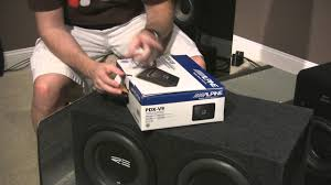 """SQ Car Audio Project Part 9 <b>Alpine PDX</b>-<b>V9</b> Amp and RE 10"""" Subs ..."""