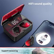 FBYEG <b>ES01 TWS</b> Bluetooth Headphones Waterproof True Stereo ...