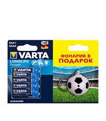 <b>Батарейка VARTA</b> LR6 LR03 AA/<b>AAA</b> (4+4 шт) — купить в ...