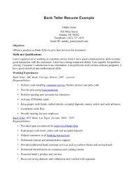 bank teller resume sample bd ae a e b d cover letter gallery of sample bank teller resume