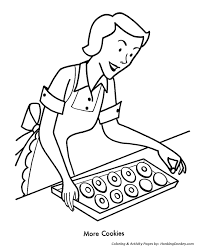 Small Picture Christmas Cookies Coloring Pages New Cookie Batch Christmas