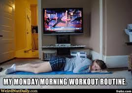 Monday Morning Workout Meme Generator - Captionator Caption ... via Relatably.com