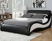 bedroom trendy bed black