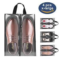 Shoe <b>Bags</b> for <b>Travel</b>,LOVK 4 PCS X-Large <b>Travel</b> Accessories ...