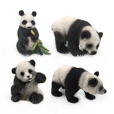 Forest Panda <b>Simulation Solid Wild</b> Animal Model Toy <b>Kids</b> ...