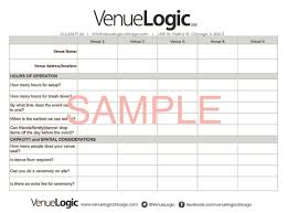 what questions to ask at your venue walkthrough venue logic walkthrough questions worksheet