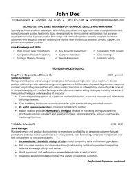 medical s marketing resume