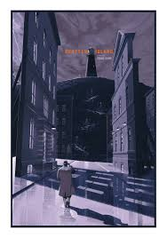 french paper art to release shutter island print by laurent special