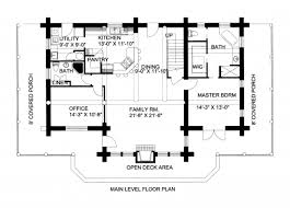 picture of 2700 sqft log cabin home design with loft log cabin floor plans with loft cabin floor plan plans loft