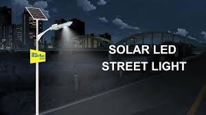 How does a <b>Street Light</b> work? <b>Solar</b> LED <b>Street Light</b> - YouTube