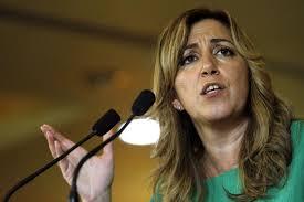La candidata a las primarias del PSOE andaluz, Susana Díaz, durante un acto. La candidata a las primarias del PSOE andaluz, Susana Díaz, durante un acto - La-candidata-a-las-primarias-del-PSOE-andaluz--Susana-Diaz--durante-un-acto