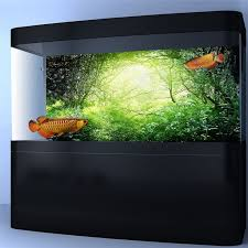 <b>Mr</b>.<b>Tank Aquarium Background Poster</b> Durable PVC Self-adhesive ...