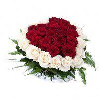 Сердце из роз с доставкой по Химкам - FloraHimki.ru