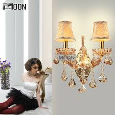 maria theresa crystal wall sconces light fixture with 2 lights clear colorchina mainland cheap wall sconce lighting