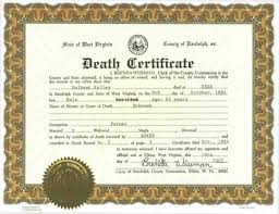 death certificate template for microsoft word certificate death certificate template for microsoft word