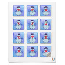 "Магниты квадратные 5x5см ""<b>Снеговик</b>"" #2594807 от Наталия ..."