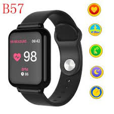 B57 Women Men Smart watches Waterproof Sport For IOS ... - Vova