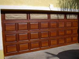 Image result for faux wood garage door