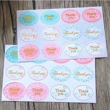 "<b>120pcs</b>/lot <b>New</b> Retro Kawaii <b>HANDMADE</b> ""Thank you""Round Seal ..."