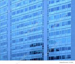 glass windows blue wall of an office building tall original skyscraper called pirelli building in milan lombardy italy building an office