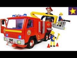 Пожарная машина Пожарный СЭМ со светом, звуком и водой ...
