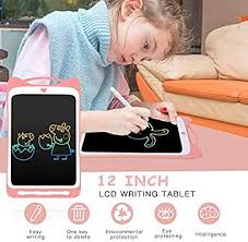 AGPTEK <b>12Inch</b> Colorful <b>LCD</b> Writing Tablet for Kids, Portable ...