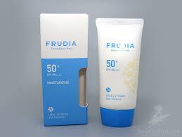 Отзыв о новинке Frudia <b>крем</b>-<b>эссенция с ультра защитой</b> от ...