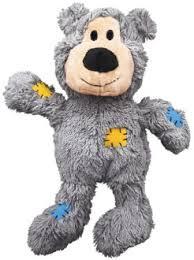 <b>Kong Игрушка</b> для мелких собак <b>WildKnots</b> Мишка плюш с ...