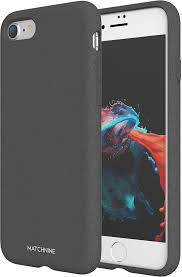 <b>Matchnine Jello Pebble чехол</b> для iPhone 7/8, Dark Gray — купить ...