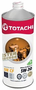 <b>Моторное масло TOTACHI</b> Ultima Ecodrive F 5W-30 1 л — купить ...