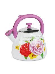 <b>Чайник эмалированный со свистком</b> 2,8 л MAYER&BOCH ...