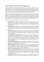 College Application Essay Tips Students Need Now   US News Tips For Writing A College Application Essay Tips for Writing Your College Admissions Essay
