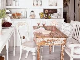 image of shabby chic kitchen table charming shabby chic kitchen